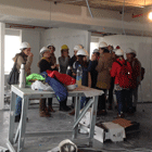 Visit of students of interior design of ORT Uruguay university