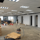 Openoffice with armstrong ceiling and the luminaires
